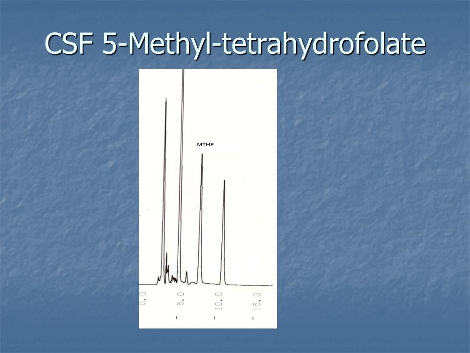 CSF 5-Methyl-tetrahydrofolate