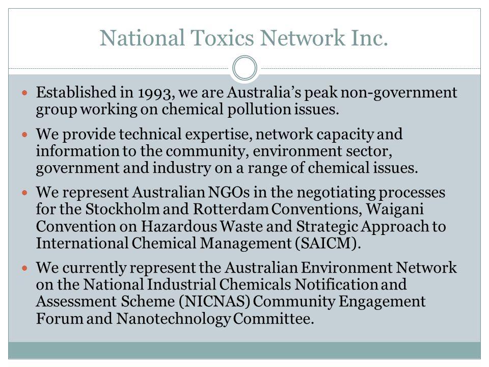 National Toxics Network Inc.