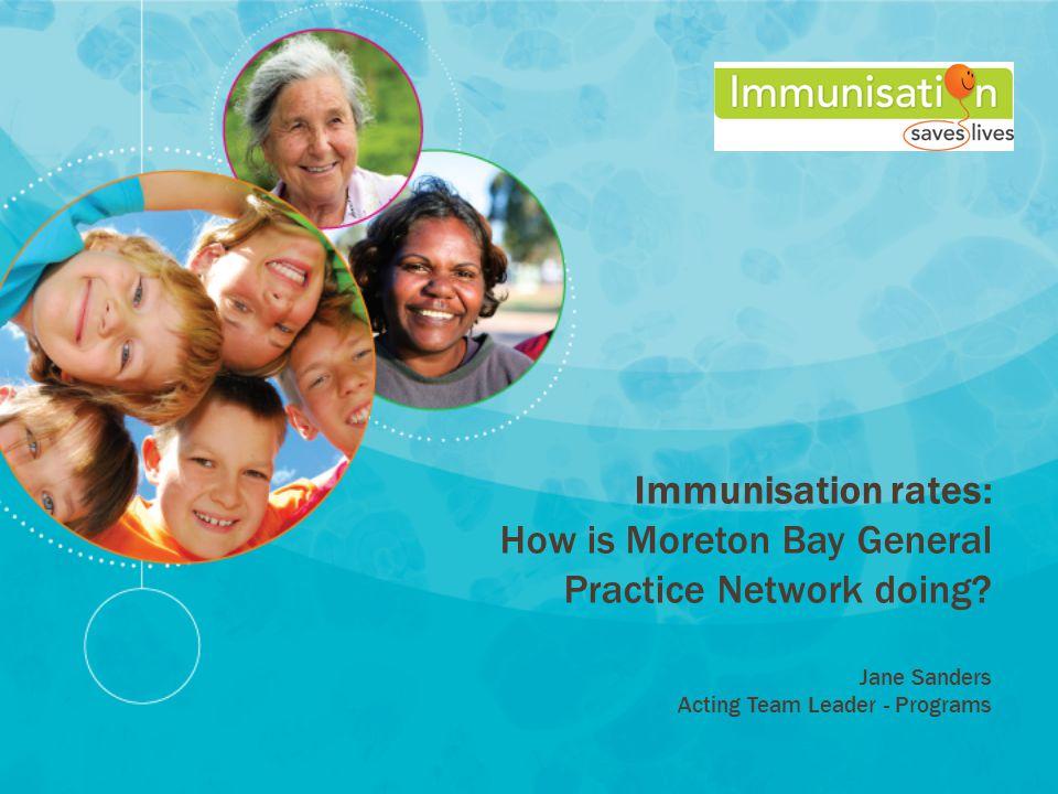 Immunisation rates: How is Moreton Bay General Practice Network doing.