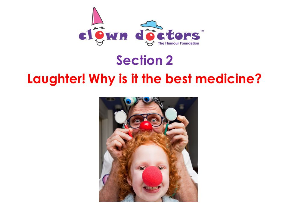 The Clown Doctors helped Sophie to feel better when she hurt her hand.