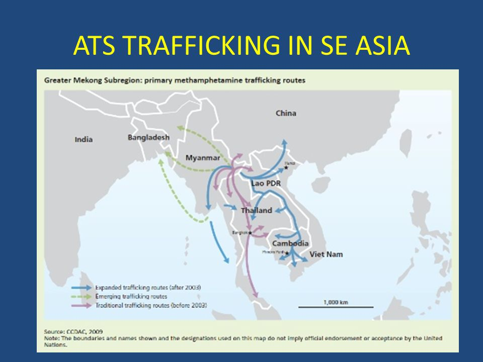 ATS TRAFFICKING IN SE ASIA