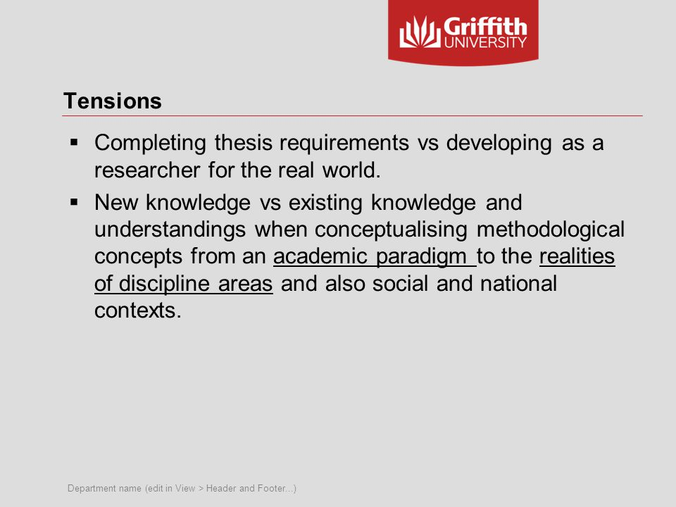Our interests  What challenges do you experience in understanding, translating and applying methodological concepts from theory to practice.