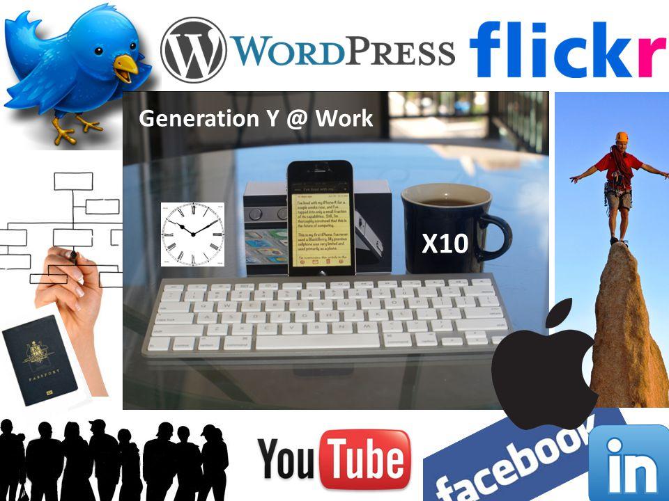 X10 Generation Y @ Work