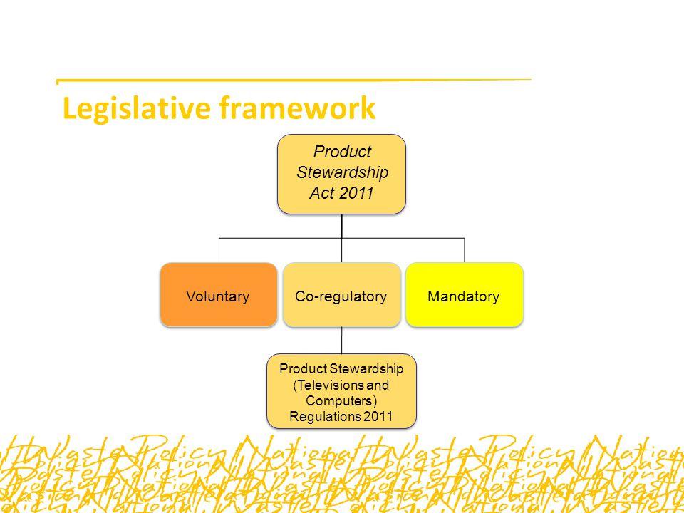 How does the legislative framework work.