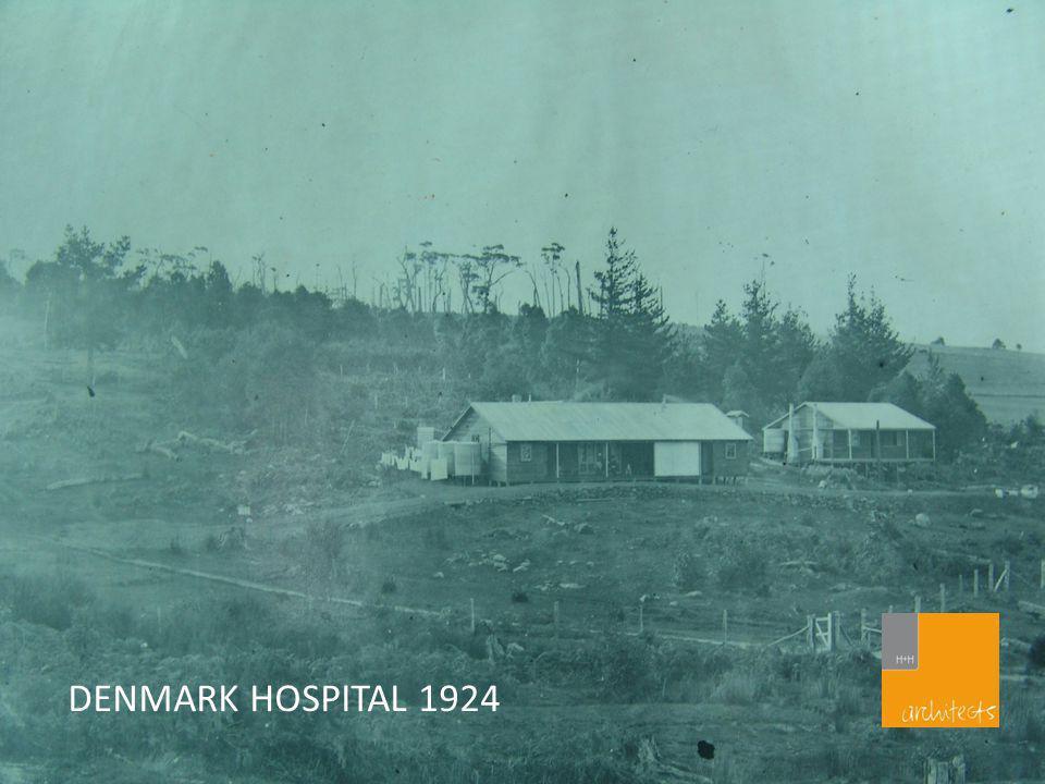 DENMARK HOSPITAL 1924