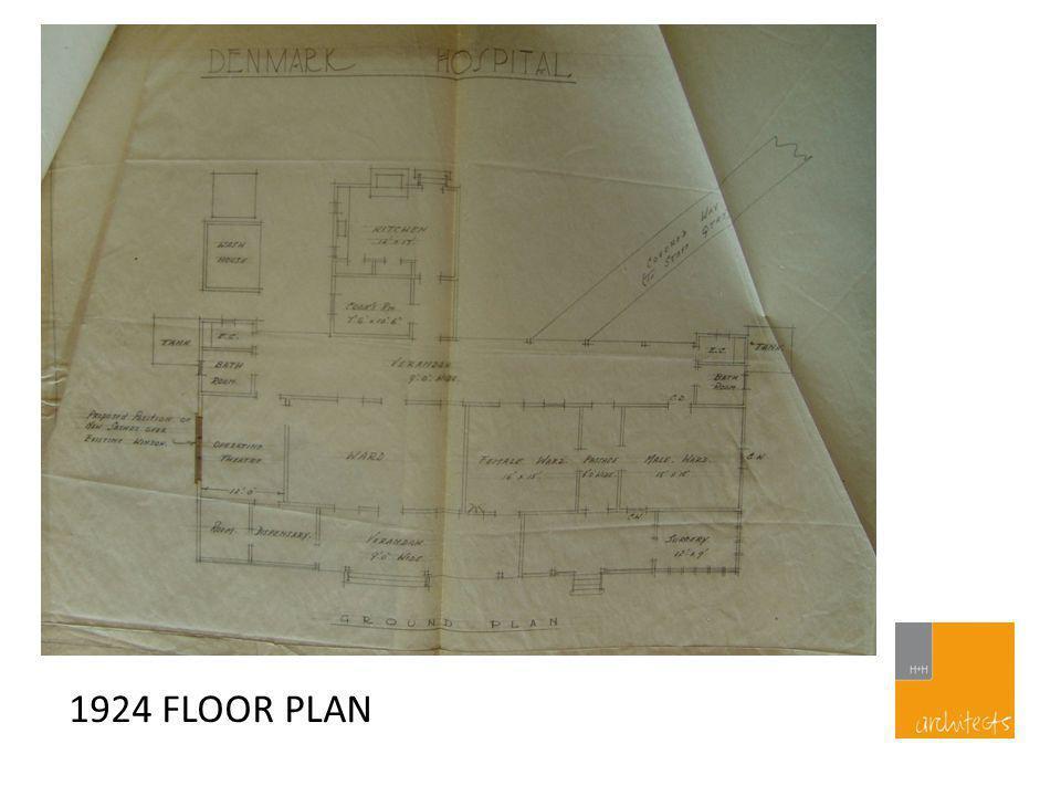 1924 FLOOR PLAN