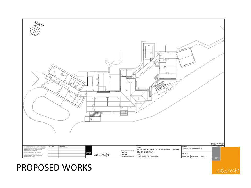 PROPOSED WORKS