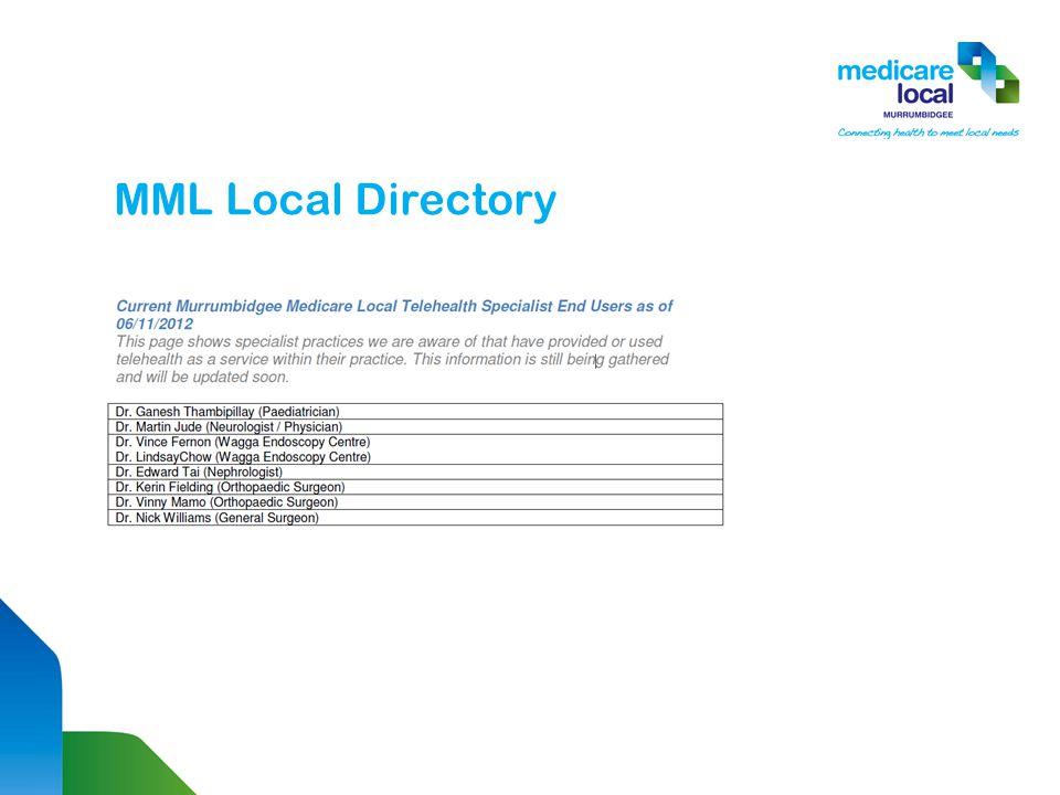 MML Local Directory