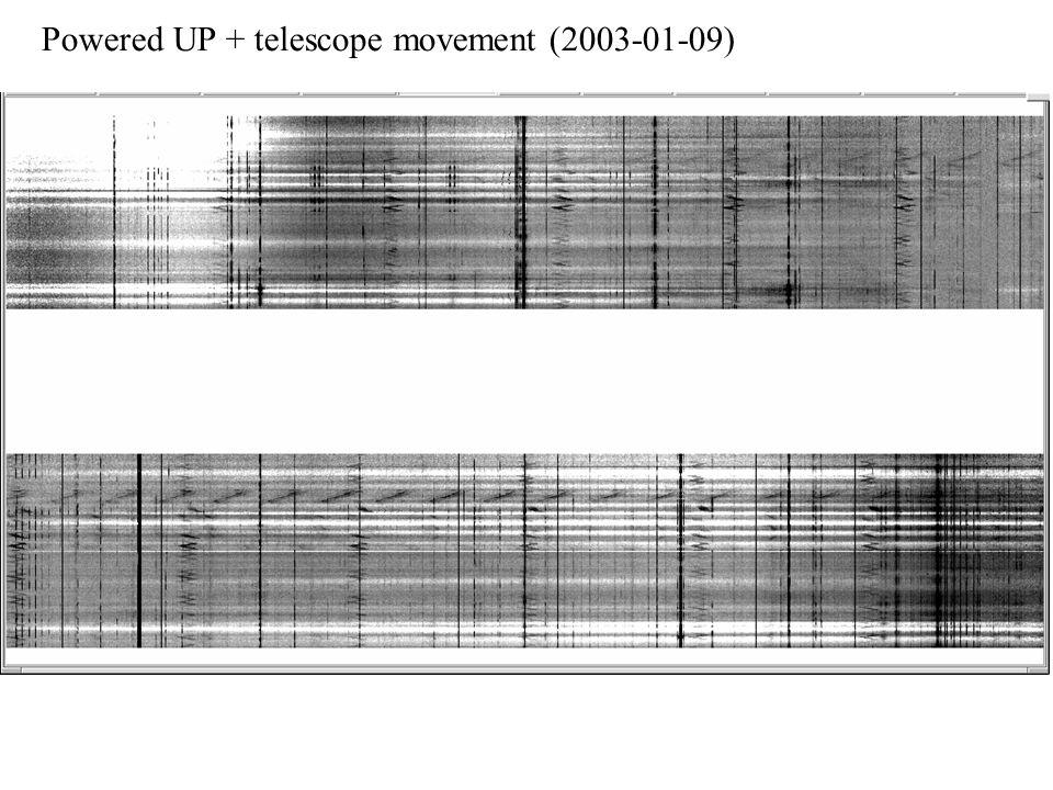 Powered UP + telescope movement (2003-01-09)