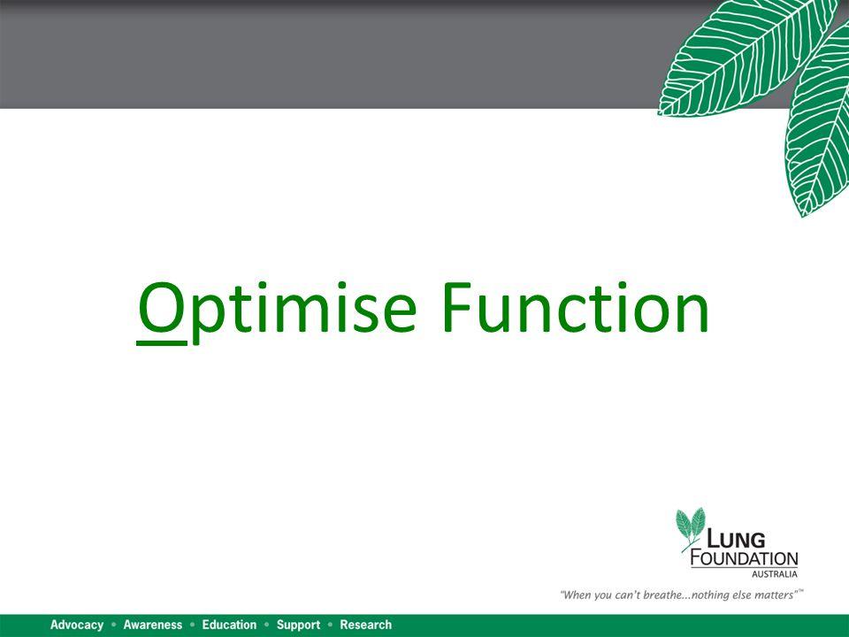 Optimise Function