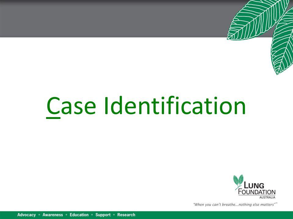 Case Identification