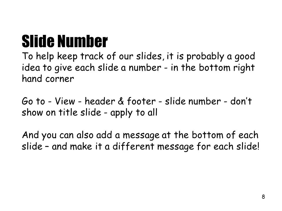 18 We can also rotate words - or more accurately - we can rotate the text box the words are in.
