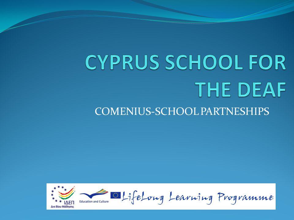 COMENIUS-SCHOOL PARTNESHIPS