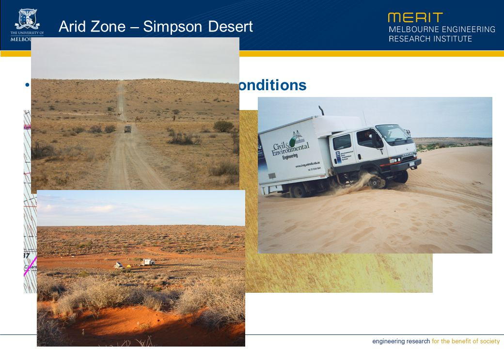 Arid Zone – Simpson Desert Flight Lines and Surface Conditions