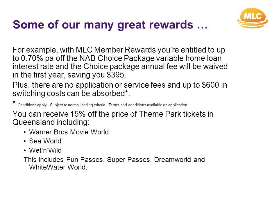 How do you access MLC Member Rewards.
