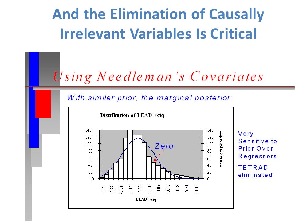And the Elimination of Causally Irrelevant Variables Is Critical