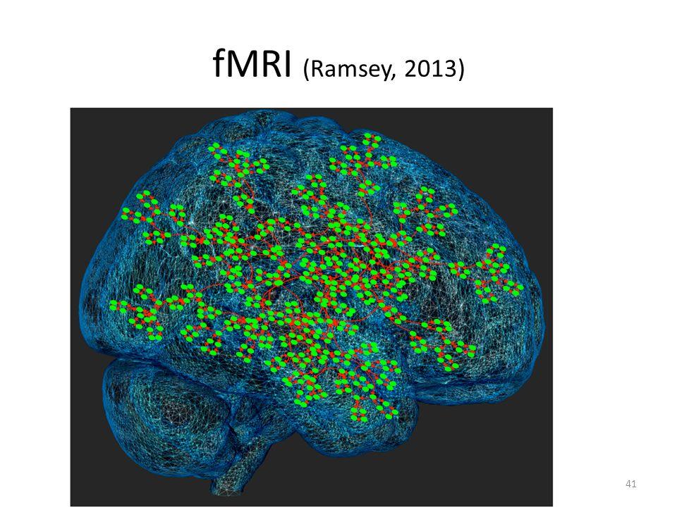 fMRI (Ramsey, 2013) 41