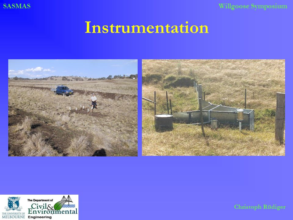 SASMASWillgoose Symposium Christoph Rüdiger Instrumentation