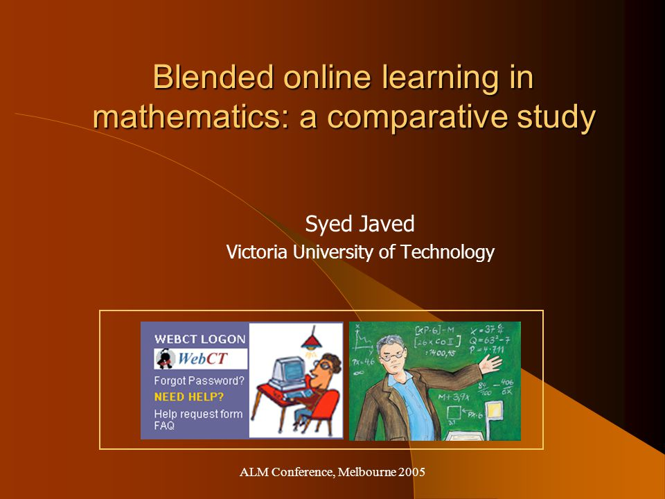 Blended Online Learning Both teachers and students preferred a 'blended learning' approach, one which captures the best features of flexibility and integrates these with the social interactions of the classroom. Brennan, R.