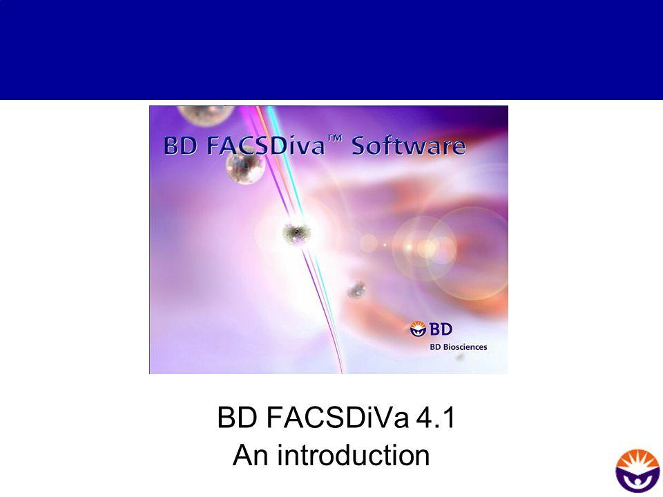 BD FACSDiVa 4.1 An introduction