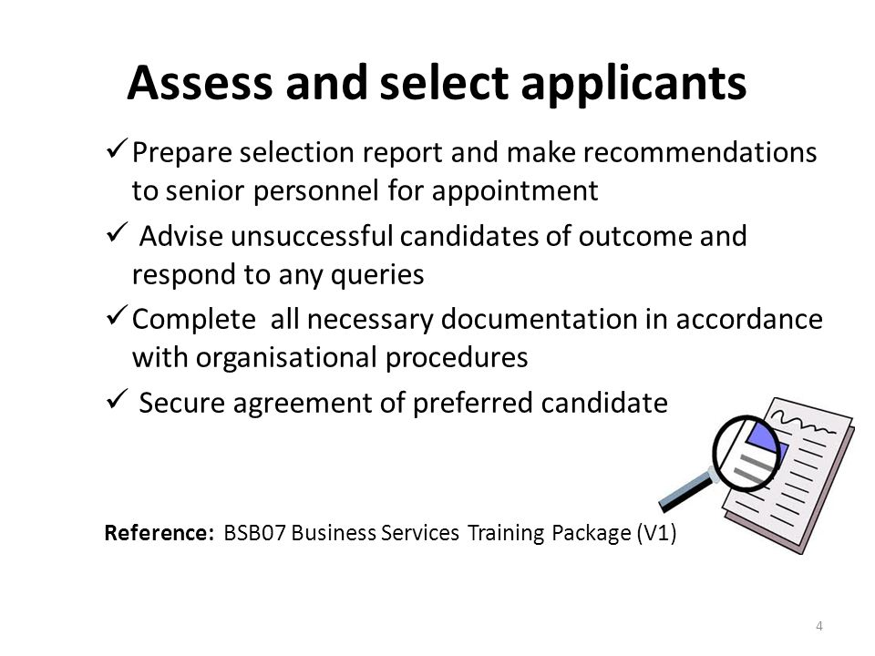 Follow Up Keep all the details of all job applicants and interview notes confidential, as you may use them in the future for other positions 25