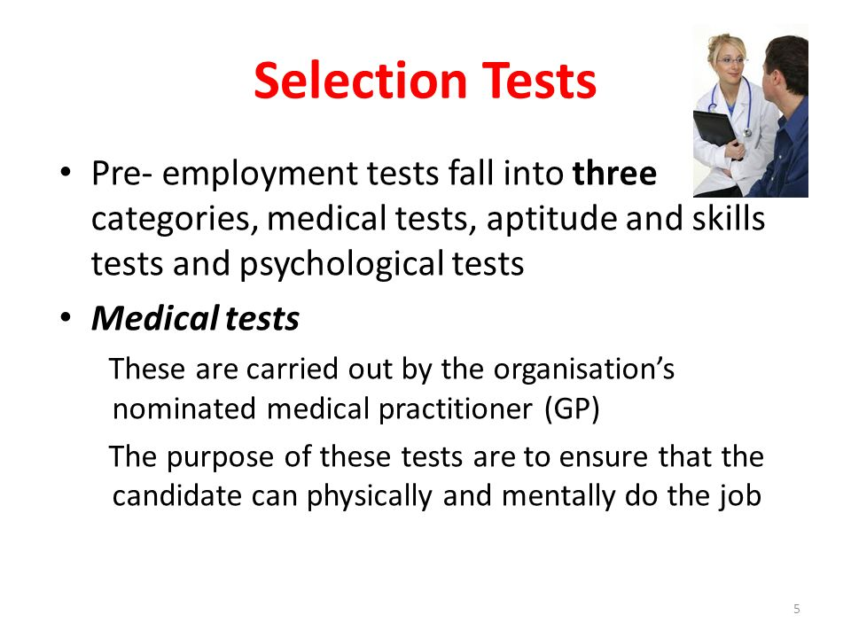 Selection Tests Aptitude and skills tests These measure such factors such as verbal reasoning, numerical ability, spatial skills, abstract reasoning, the ability to check detailed information, mechanical comprehension and the aptitude to program computers 6