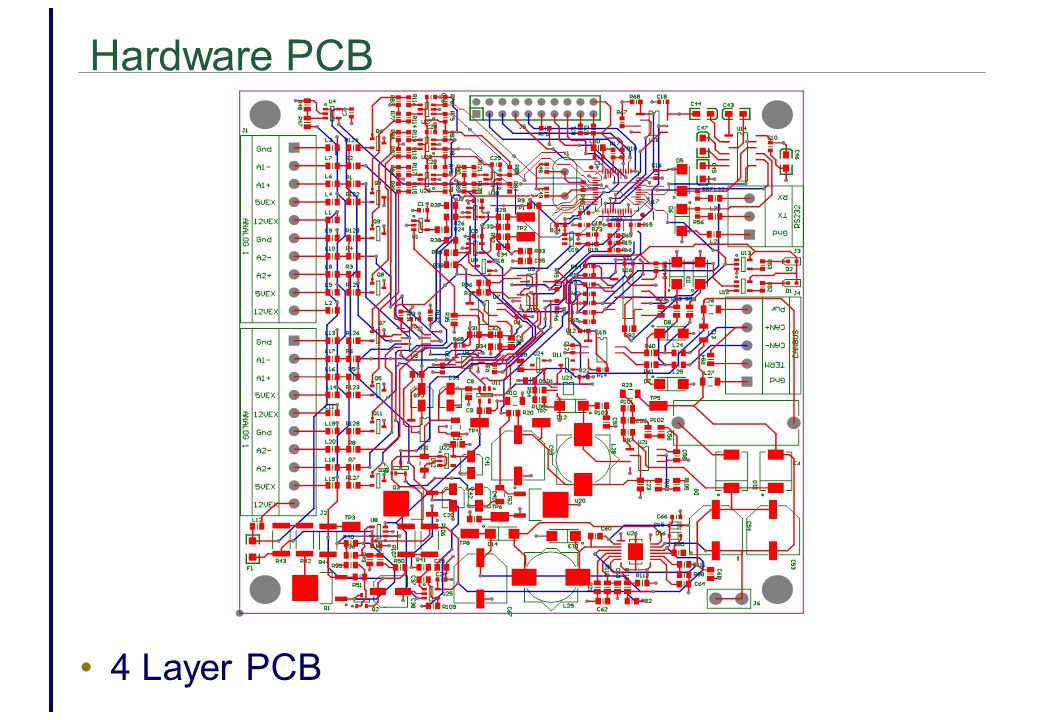Hardware PCB 4 Layer PCB