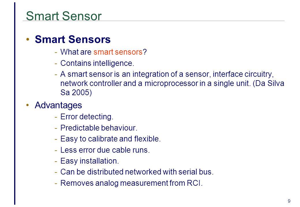 9 Smart Sensor Smart Sensors - What are smart sensors.