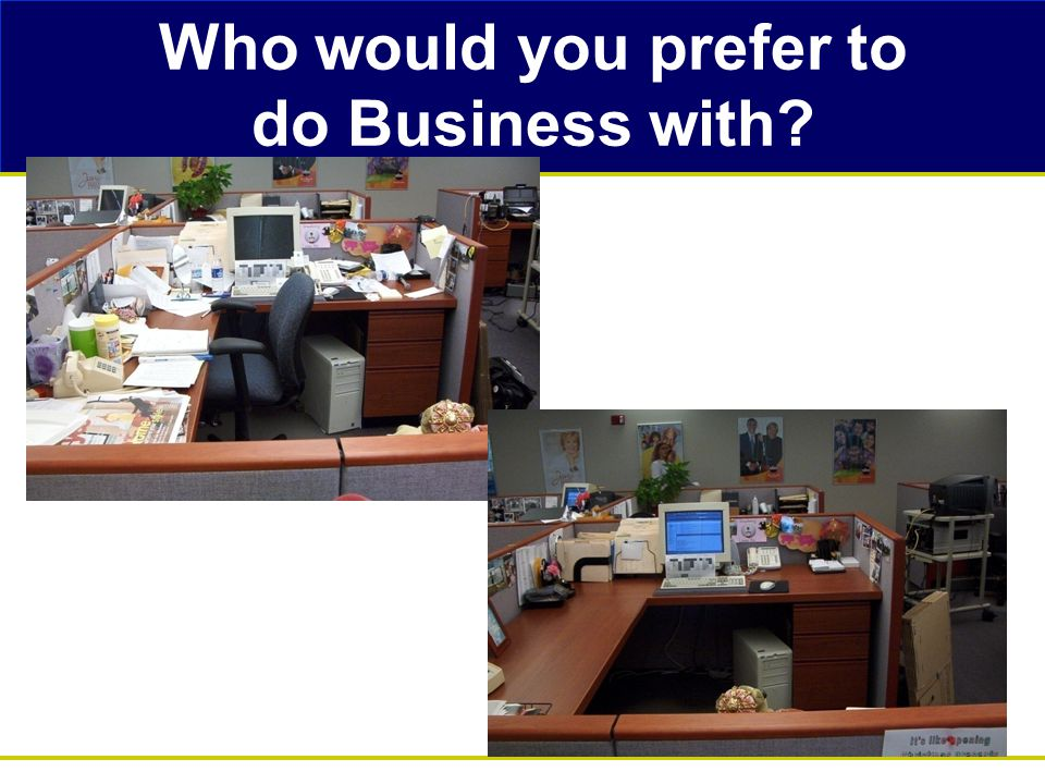 Who would you prefer to do Business with?
