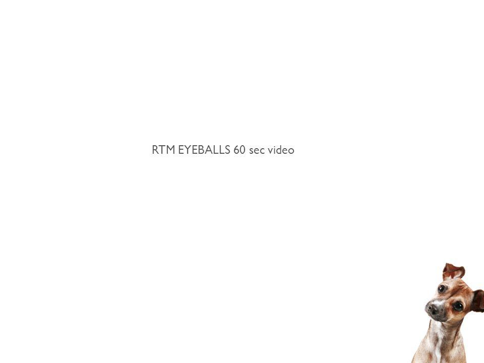 RTM EYEBALLS 60 sec video