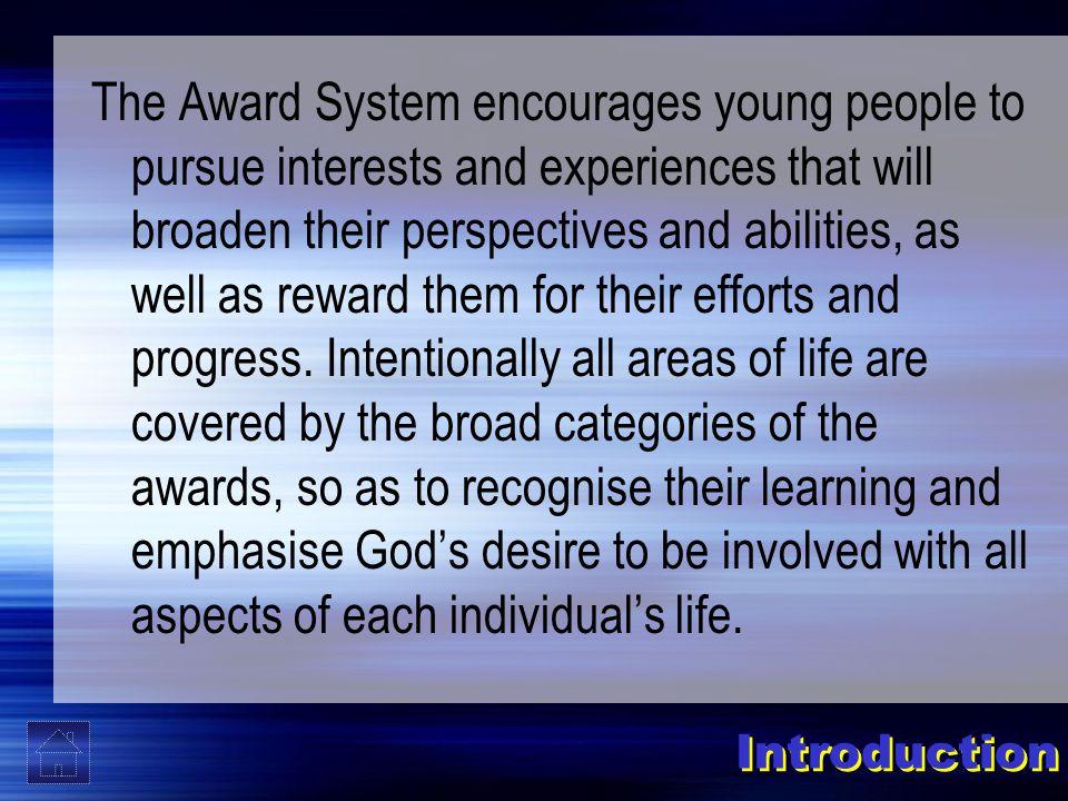 Three main categories of Awards ACTIVITY AWARDS SPECIAL AWARDS SERVICE AWARDS