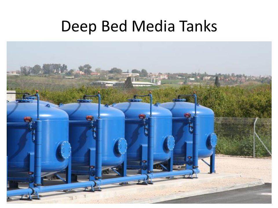 9 Deep Bed Media Tanks