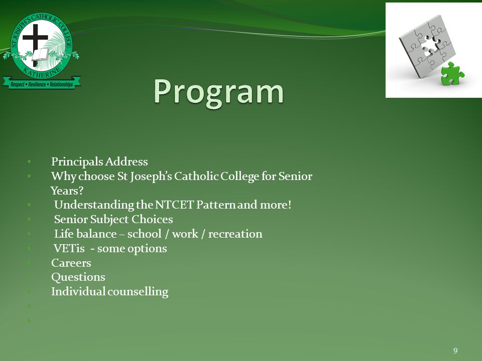 Why Choose St Joseph's Catholic College.