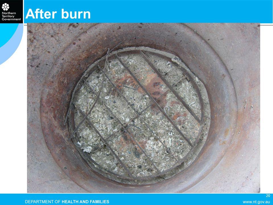 20 After burn