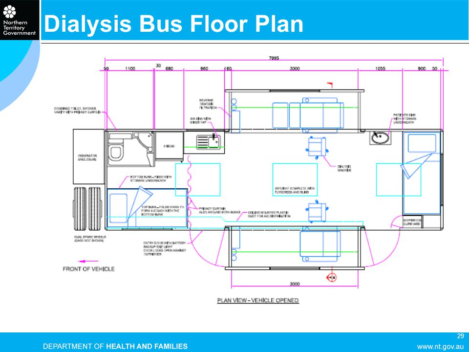 29 Dialysis Bus Floor Plan