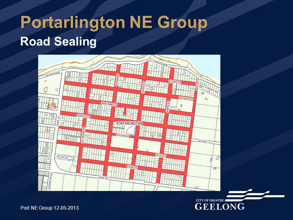 Port NE Group 12-05-2013 Portarlington NE Group Road Sealing
