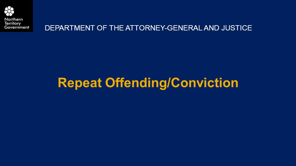 Repeat Offending/Conviction