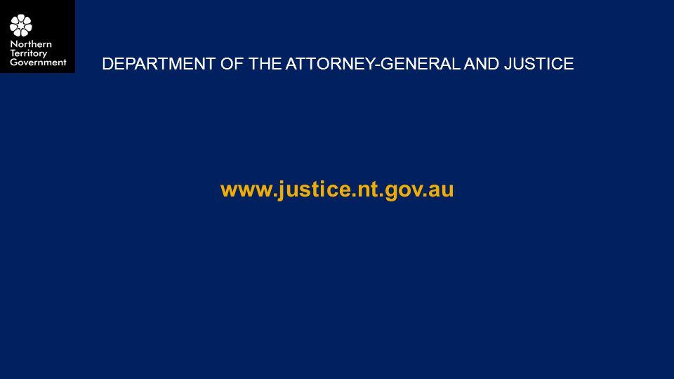 www.justice.nt.gov.au