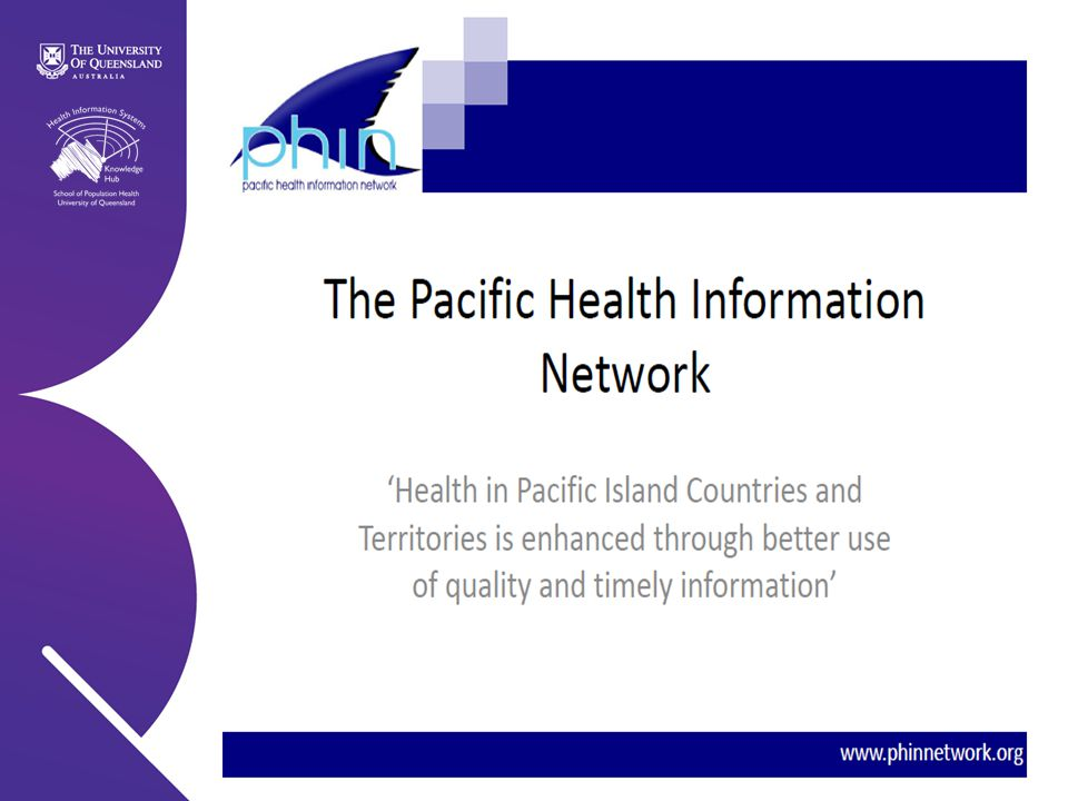 Health Information Systems Knowledge Hub | 2011
