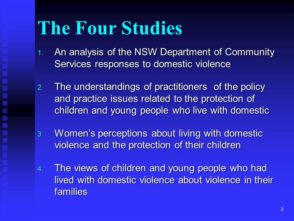 3 The Four Studies 1.
