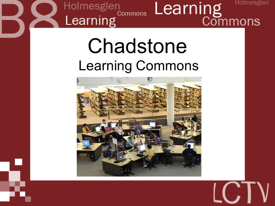 Chadstone Learning Commons