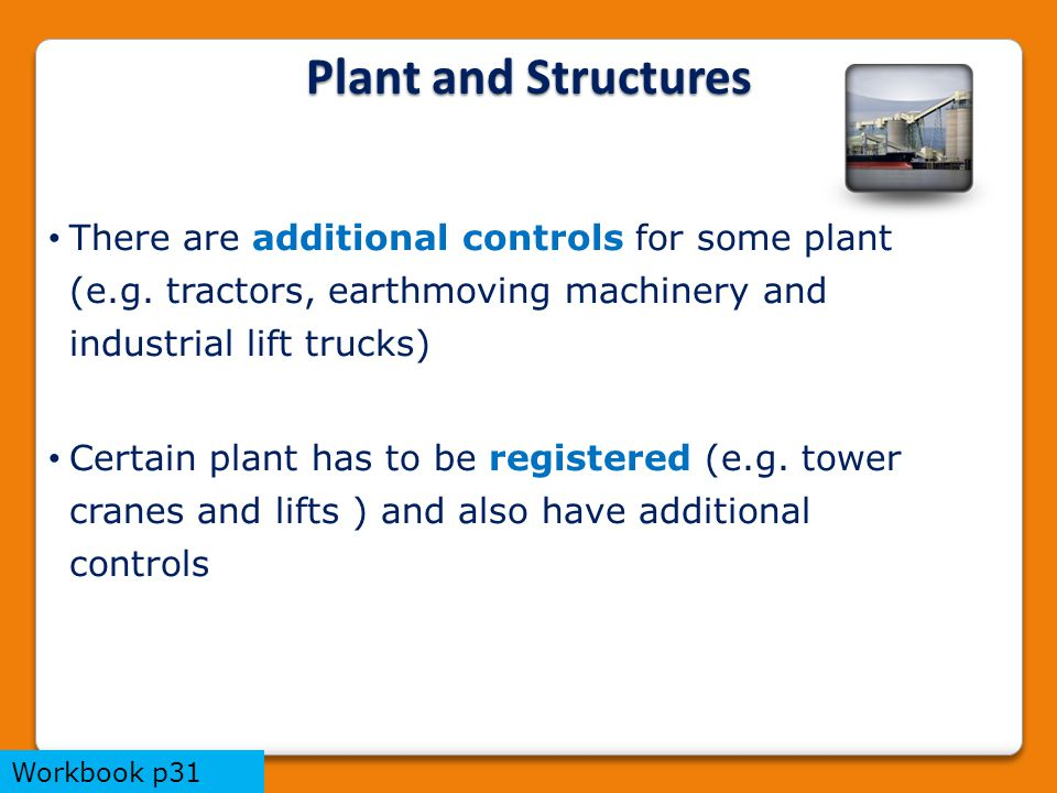 There are additional controls for some plant (e.g.