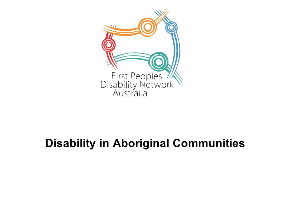 Disability in Aboriginal Communities