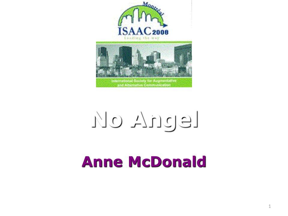 1 No Angel Anne McDonald
