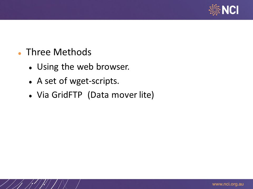 Download data from the Gateway Three Methods Using the web browser.