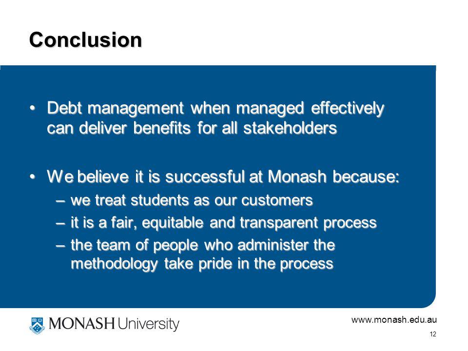 www.monash.edu.au 11 Anger Management.