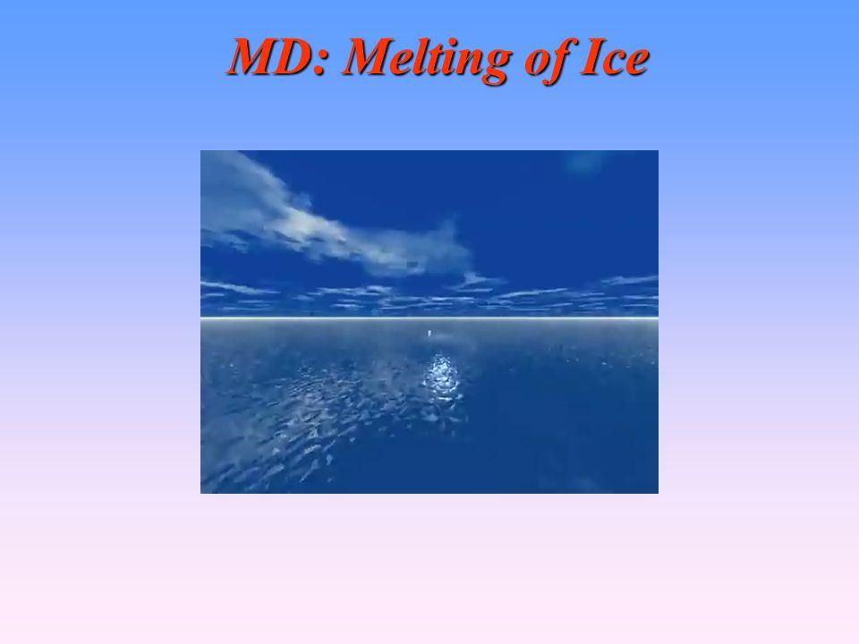 MD: Melting of Ice