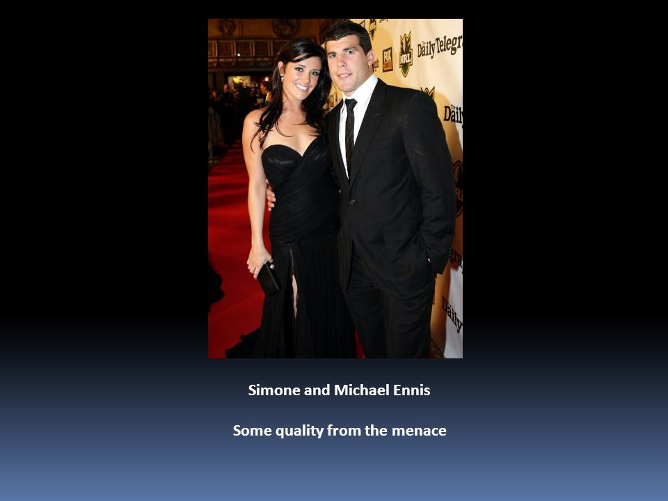 Simone and Michael Ennis Some quality from the menace