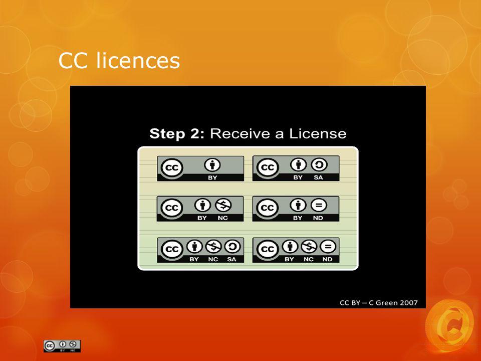 CC licences
