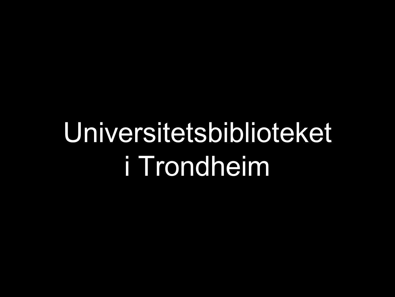 Universitetsbiblioteket i Trondheim